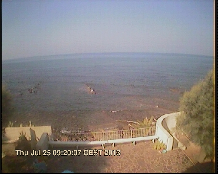 Civitavecchia webcam - Capo Linaro webcam, Lazio, Rome